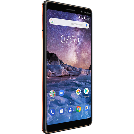 "Nokia 7 Plus Black 6"" 64GB 4G Unlocked & SIM Free"