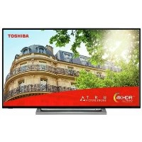 "Refurbished Toshiba 49"" 4K Ultra HD with HDR LED Freeview HD Smart TV without Stand"