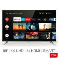 "Refurbished TCL 50"" 4K Ultra HD with HDR10 LED Freeview Play Smart TV without Stand"