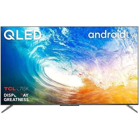 "Refurbished TCL 55"" 4K Ultra HD with HDR10+ QLED Freeview Play Smart TV without Stand"