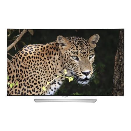 "Refurbished LG 55"" Curved 3D 4K Ultra HD OLED Freeview HD Smart TV"