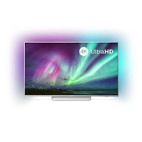 "Refurbished Philips Ambilight 55"" Smart 4K Ultra HD with HDR10+ LED Freeview Play Smart TV without Stand"