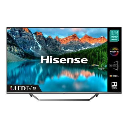 "Refurbished Hisense 55"" 4K Ultra HD with HDR10 QLED Freeview Play Smart TV without Stand"