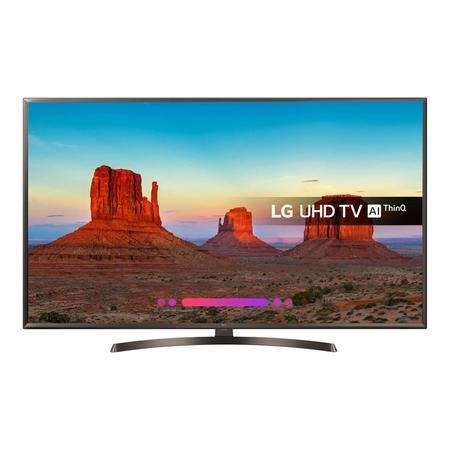 "Refurbished LG 55"" 4K Ultra HD with HDR LED Freeview Play Smart TV without Stand"