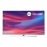 "Refurbished Philips Ambilight 58"" 4K Ultra HD with HDR LED Freeview Play Smart TV without Stand"