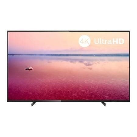 "Refurbished Philips 65"" 4K Ultra HD with HDR10 LED Freeview Play Smart TV without Stand"