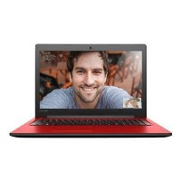 Refurbished Lenovo IdeaPad 310 Core i3-6006U 4GB 1TB 15.6 Inch Windows 10 Laptop in Red