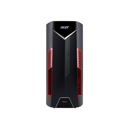A2/DG.E0HEK.029 Refurbished Acer Nitro N50-600-29 Core i3-8100 4GB 16GB Intel Optane 1TB GTX 1050 Gaming Desktop PC