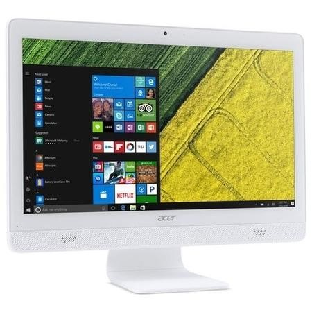 A2/DQ.B6ZEK.003 Refurbished Acer Aspire C20-720 Intel Pentium J3710 4GB 1TB 19.5 Inch Windows 10 All in One PC in White