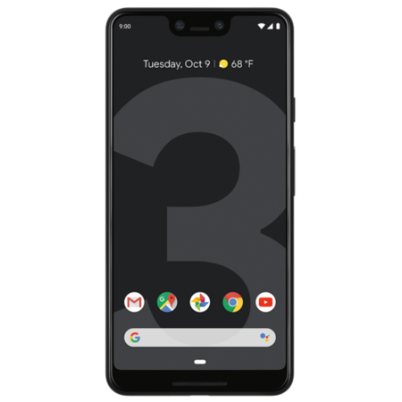 "Grade B Google Pixel 3 XL Just Black 6.3"" 64GB 4G Unlocked & SIM Free"