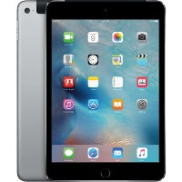 "Refurbished Apple iPad Mini 4 128GB Cellular 7.9"" 2018 - Space Grey"