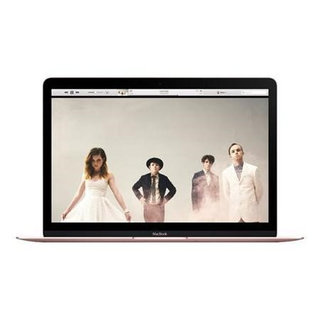 77562501/1/A2/MMGL2B/A GRADE A3 - Refurbished Apple MacBook Core M3 8GB 256GB SSD 12 Inch Laptop in Rose Gold