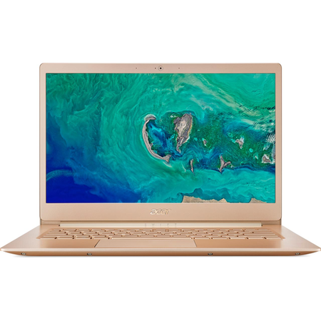 Refurbished Acer Swift 5 Core i7-8550U 8GB 256GB 14 Inch Windows 10 Touchscreen Laptop in Gold