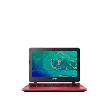 Refurbished Acer Aspire 1 Intel Celeron N4000 2GB 32GB 11.6 Inch Windows 10 Laptop in red
