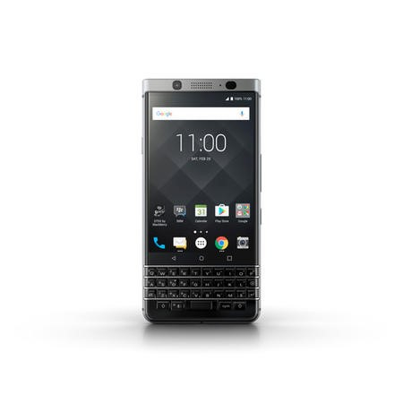 "A2/PRD-63117-003 Grade B BlackBerry KEYone Silver 4.5"" 32GB 4G Unlocked & SIM Free"