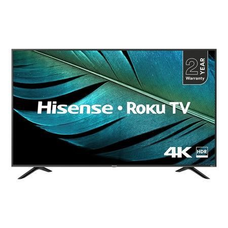 "Refurbished Hisense 55"" 4K Ultra HD with HDR LED Freeview Smart TV without Stand"