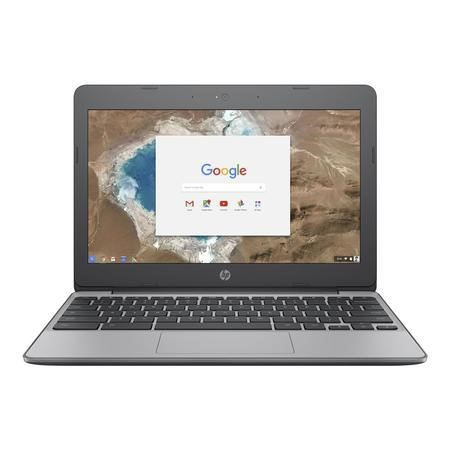 "A2/Y3V73EA Refurbished HP 11-v001na 11.6"" Intel Celeron N3060 4GB 16GB Chrome OS Chromebook"