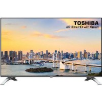 "Refurbished Toshiba 55"" 4K Ultra HD with HDR LED Freeview Play Smart TV"