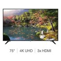 "A3/75U6763DB/NS Refurbished Toshiba 75"" 4K Ultra HD with HDR LED Freeview Play Smart TV without Stand"