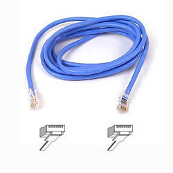 A3L791B01M-BLU Belkin patch cable - 1 m