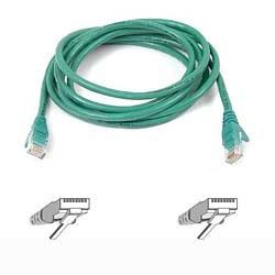 A3L791B01M-GRNS Belkin patch cable - 1 m