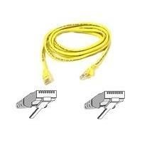 Cable/patch CAT5 RJ45 snagless 2m yellow