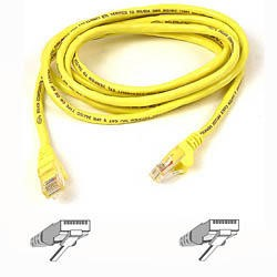 A3L791B01M-YLWS Belkin patch cable - 1 m