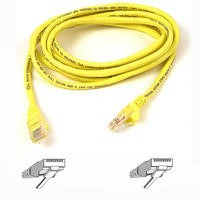 Belkin 2M Patch Cable CAT6 Shield Snagless - Yellow