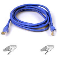 Belkin CAT 5e RJ54M Snagless Patch Cable 2M - Blue