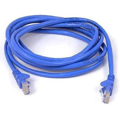 Belkin CAT5e 15m Shielded Snagless Patch Cable RJ45M-RJ45M - Blue