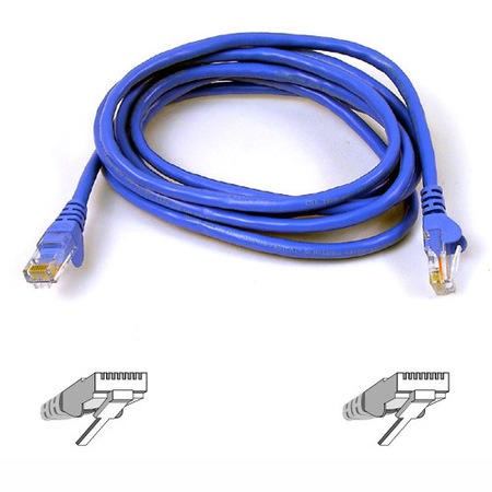 A3L980B01M-BLUS Belkin High Performance patch cable - 1 m