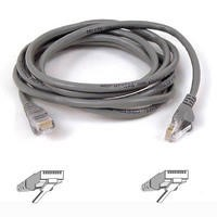 Belkin CAT6 STP Snagless Patch Cable_ Grey 5 Meters