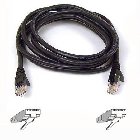 A3L980B02M-BLKS Belkin High Performance patch cable - 2 m