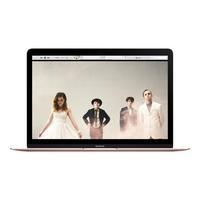"Refurbished Apple Macbook Core M 8GB 512GB 12"" OS X in Rose Gold"