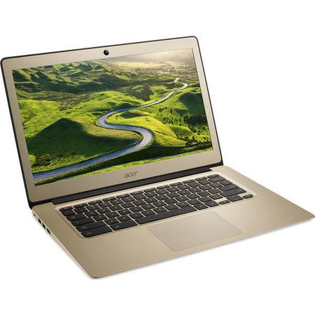 A2/NX.GJEEK.007 Refurbished Acer 14 CB3-431 Intel Celeron N3060 2GB 32GB 14 Inch Chromebook in Gold