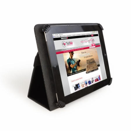 "Uni-view Faux Leather case cover for 9.7"" & 10"""
