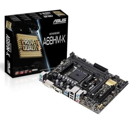 A68HM-K ASUS AMD A68H FCH DDR3 FM2+ Micro-ATX Motherboard
