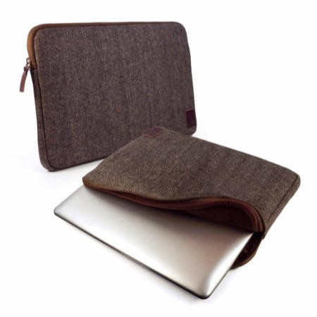 "Herringbone Tweed protective sleeve case cover 13"" Devices including"