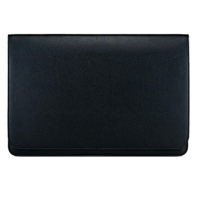 "Slim Pouch 13.3"" Synthetic Leather Case - Black"