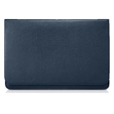 "Slim Pouch 13.3"" Synthetic Leather Case - Blue"