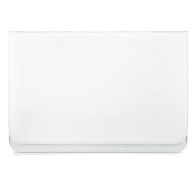"Slim Pouch 13.3"" Synthetic Leather Case - White"