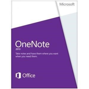 Microsoft One Note 2013 32/64 EN 1U 1PC ESD