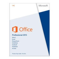 ESD Microsoft Office Professional 2013 32-bit/64-bit - Electronic Download
