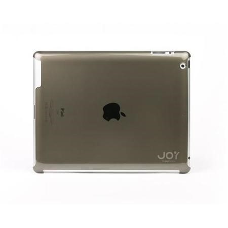 The Joy Factory AAD117 SmartFit2 -  iPad2 Smart Cover Compatible Ultra-Thin Snap-On Hard Case in Smoke