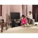 "ABRD800-BLK Alphason ABRD800-BLK Ambri TV Stand for up to 32"" TVs - Black"