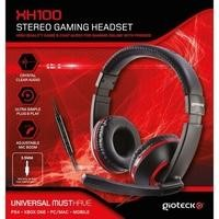 Gioteck XH-100 Stereo Gaming Headset in Blue & Black - Multi Platform