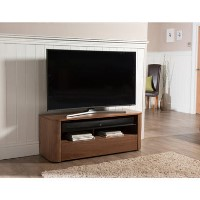 "Alphason Hugo TV Stand for up to 55"" TVs - Walnut"