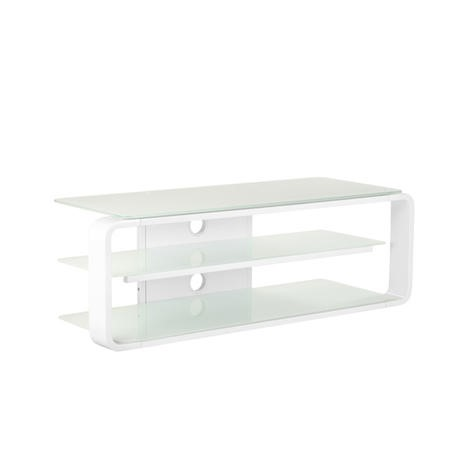 ADL1150-WHT Alphason ADL1150-WHT Lithium 1150 White TV Stand