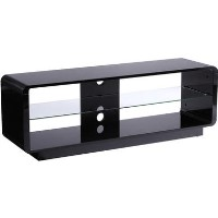 "Alphason ADLU1400-BLK Luna TV Stand for up to 72"" TVs - Black"