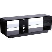 Alphason ADLU1400-BLK Luna 1400 Black TV Stand